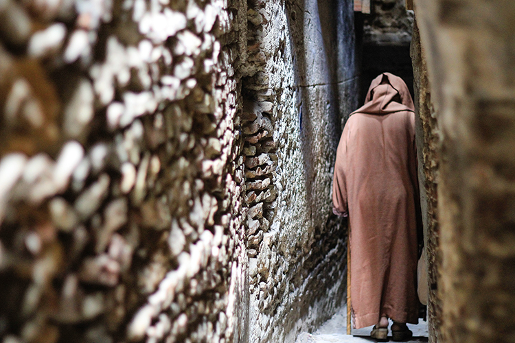 Narrow Walkways of Fes Medina - Morocco - Wanderlusters