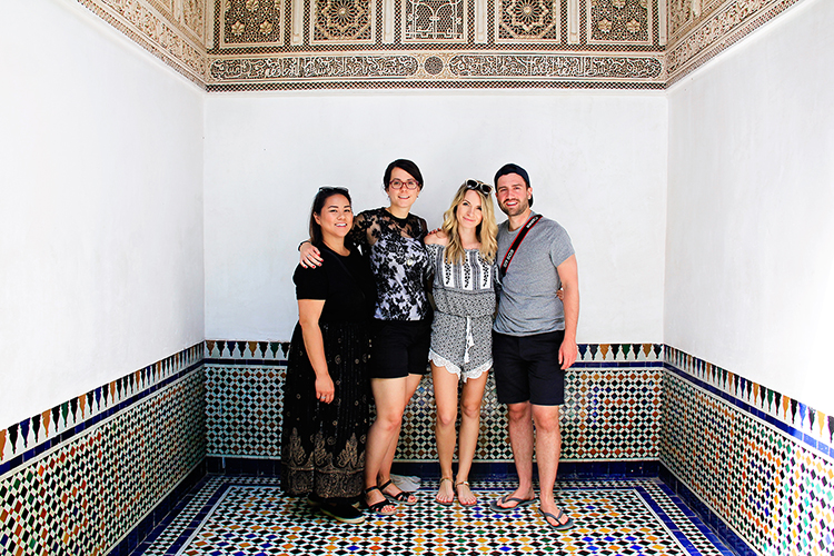 Palais Bahia Friends Together - Marrakesh Morocco - Wanderlusters