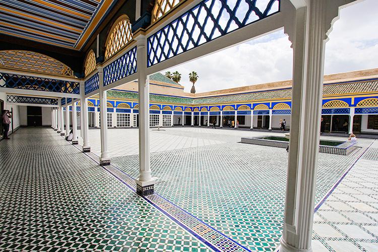 Palais Bahia - Marrakesh Morocco - Wanderlusters