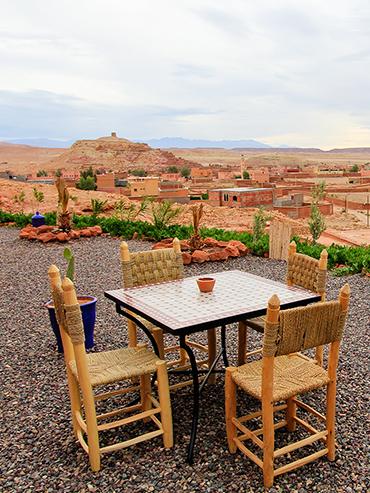 Paradise of Silence Ait Benhaddou Morocco Views