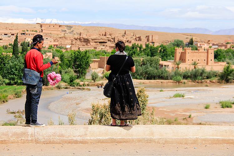 Rose Flowers Atlas Mountains - Morocco - Wanderlusters