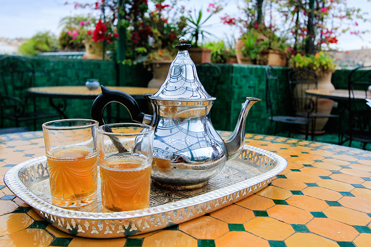 Tea in Morocco - Wanderlusters