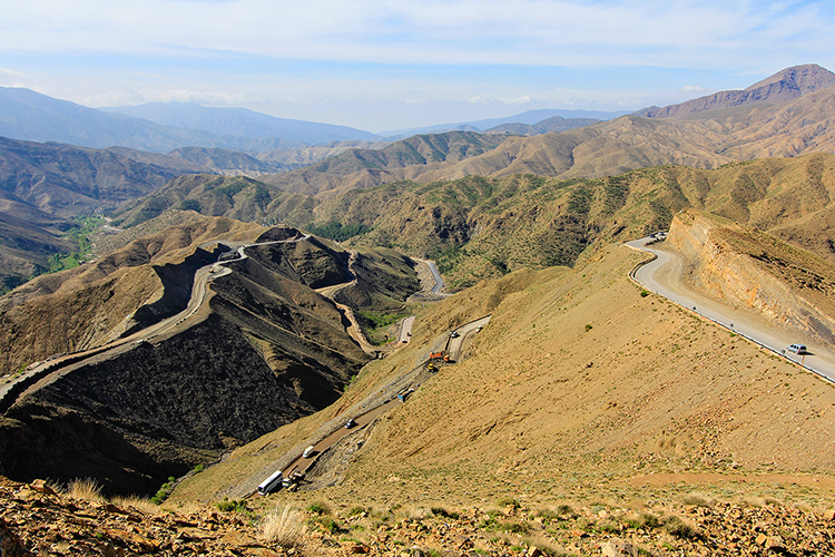 Tizintichka Pass in Morocco - Wanderlusters