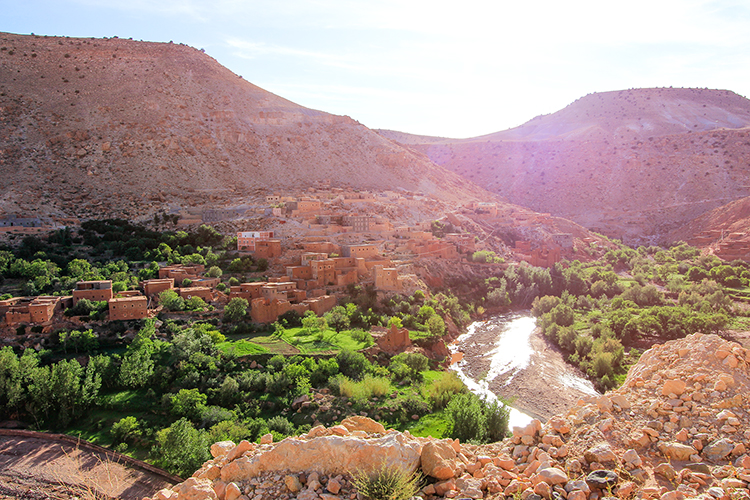 Todra Gorge Towns - Morocco - Wanderlusters