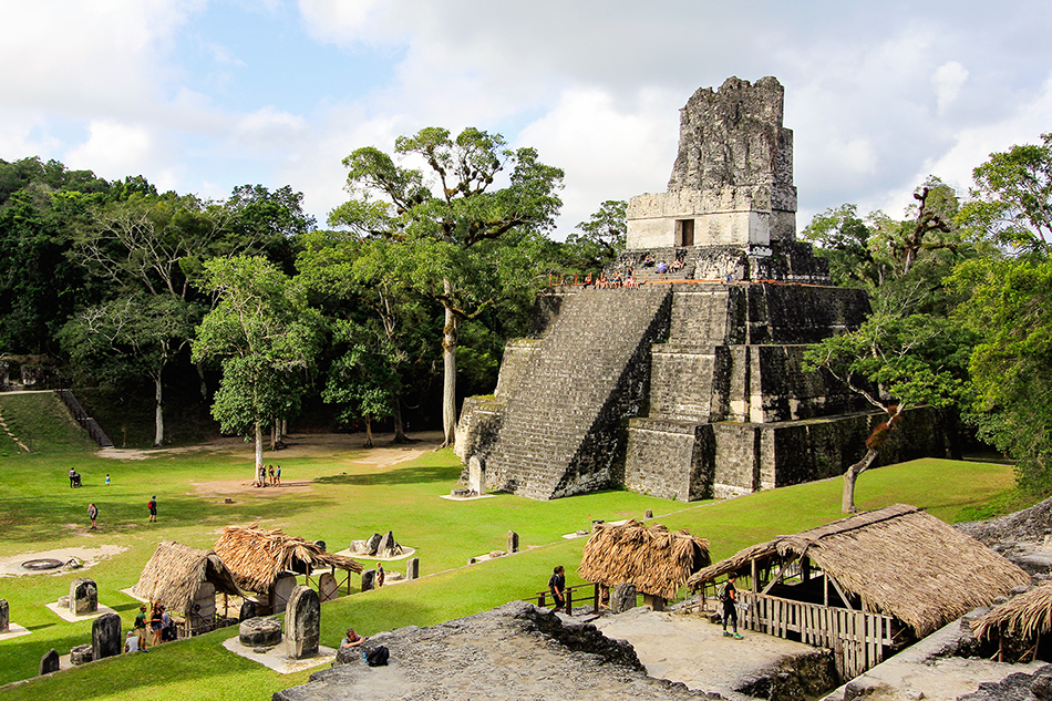 Tikal at Sunrise: Guatemala's Mayan Wonder