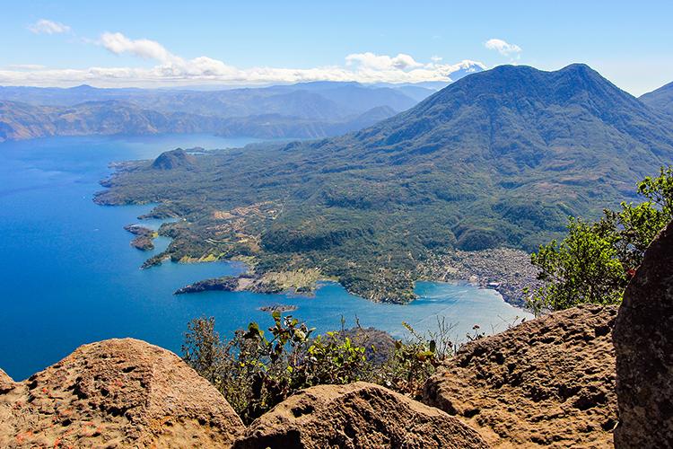 Lake Atitlan: San Pedro Volcano