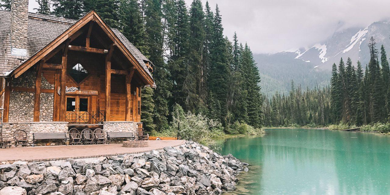 Emerald Lake: Rustic Hideaway in Canadian Rockies